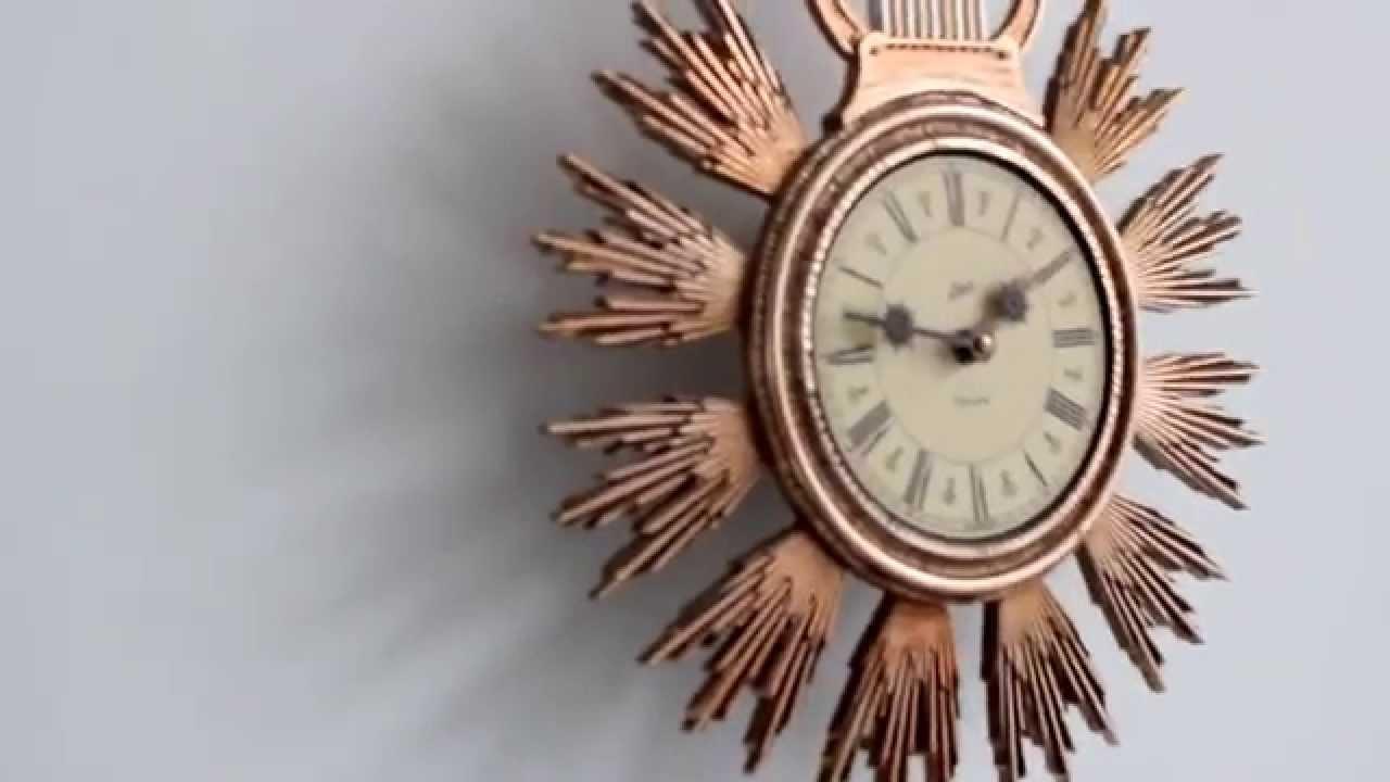Schatz Elexacta Wall Comtoise Electromagnetic 1960 S Clock