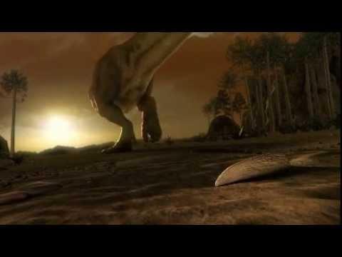 T-Rex 3D Film - Scharfe Augen - Spitze Zähne