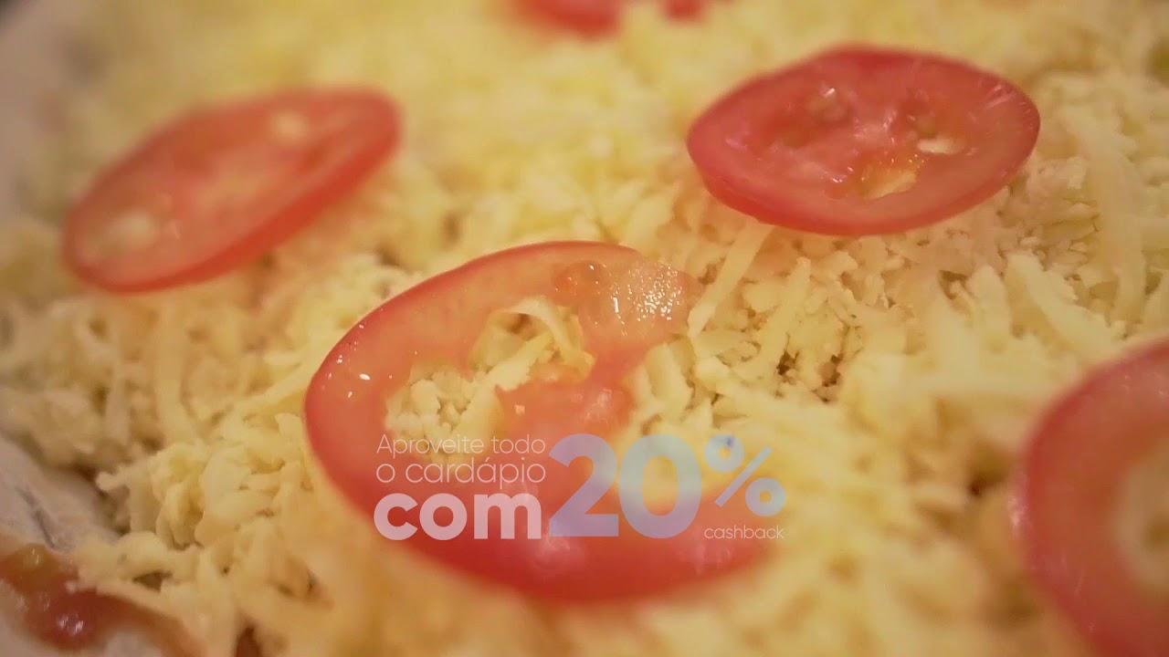 Pizzou no App 3cash com Bella Dora Pizza Gourmet de Ribeirão Preto/SP.