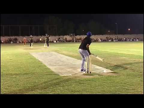 Umri pacer From lahore bowlling vs Khurrum chakwal  Ahsan chitta - tape ball in pakistan