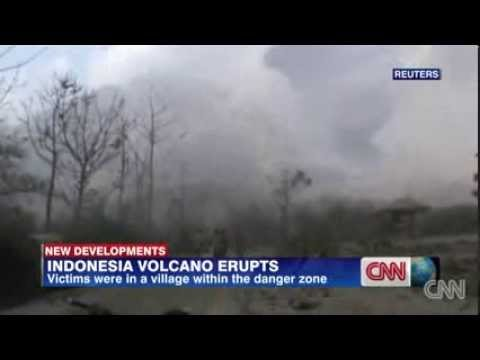 Volcano Erupts In Indonesia And Kills 14 People