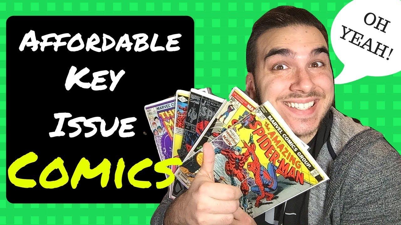 Affordable Key Issue Comics