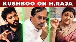 Kushboo slams H Raja