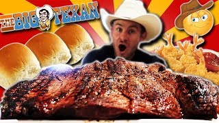 THE BIG TEXAN 72oz STEAK CHALLENGE! (7,000+ CALORIES)
