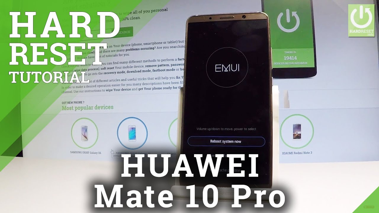 Hard Reset HUAWEI P20 Lite - HardReset info