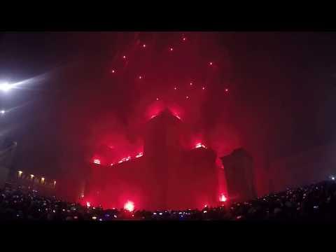 Incendio del Castello 2018 - Capodanno Ferrara (integrale)