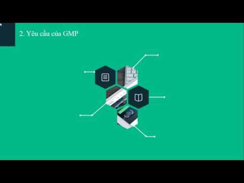 Nhóm 6 - Bài giảng về GMP