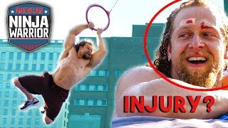 My Run At AMERICAN NINJA WARRIOR went WRONG? REAL COURSE Jujimufu