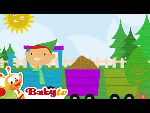 Treinpuzzel - Play Time,  BabyTV Nederlands