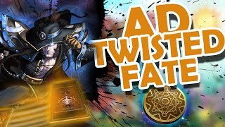 FROGGEN | AD TWISTED FATE IS ACTUALLY FUN !!