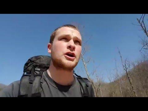 Steelcreek Arkansas Backpacking trip (loop)
