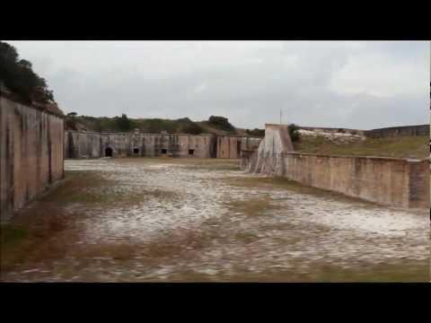 Tour Of Fort Pickens~ Pensacola Beach, Florida 32561