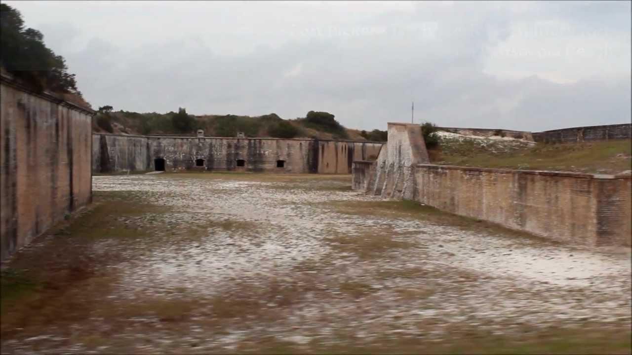 Tour Of Fort Pickens Pensacola Beach Florida 32561