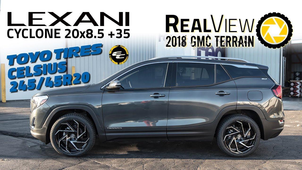 RealView - 2018 GMC Terrain w/ 20x8.5 Lexani Cyclones ...