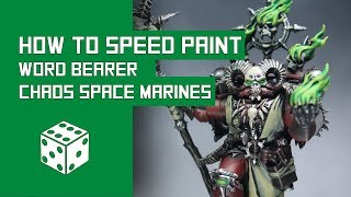 How To Speed Paint Chaos Space Marines: Warhammer 40k Word Bearers Tutorial