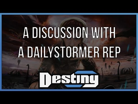 A discussion with a representative of dailystormer.com