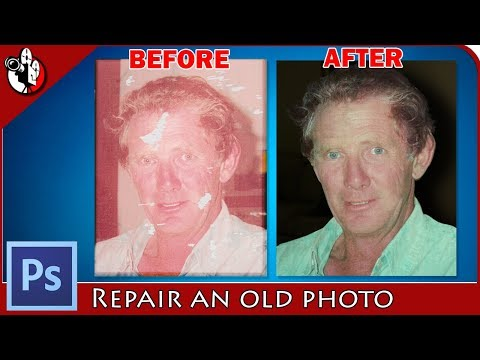 How To Repair An Old Photo In Photoshop CC