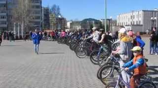 Велопробег в городе Заринске 25.04.2015 007 - Подготовка к старту