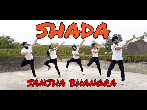 Shada Title Song   Diljit Dosanjh   Neeru Bajwa   Bhangra   Sanjha Bhangra   2019