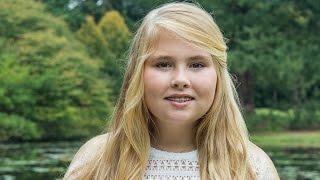 Prinses Amalia  (12 jaar) gaat naar het Sorghvliet-gymnasium.