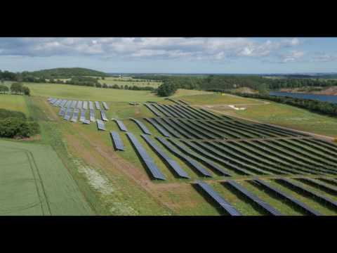 AEG solar modules - Wormit solar farm