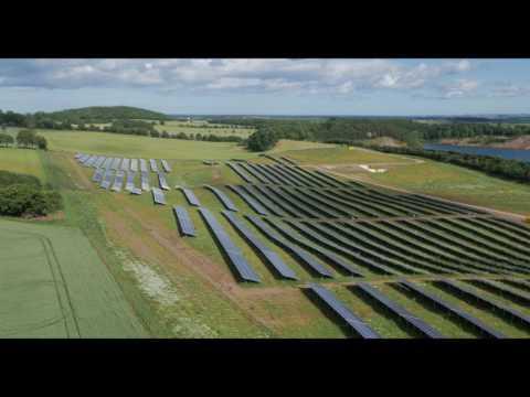 AEG solar modules - Wormit solar farm
