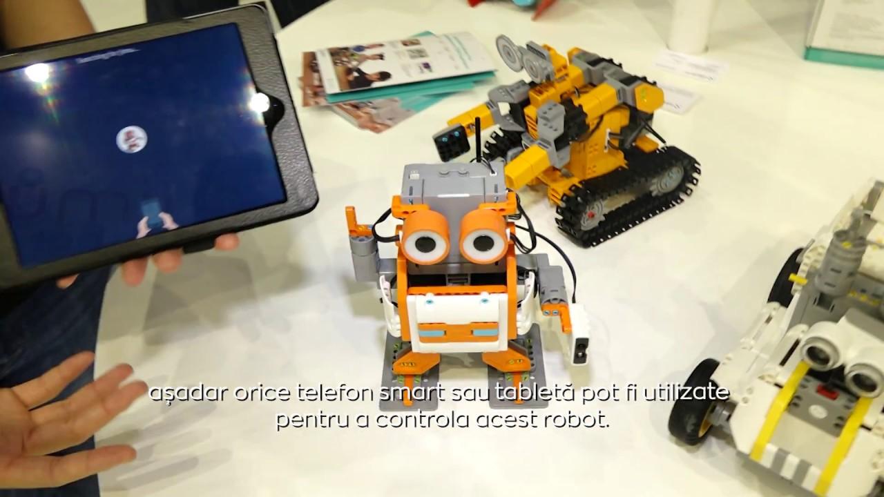 bani simpli care fac un robot pe internet