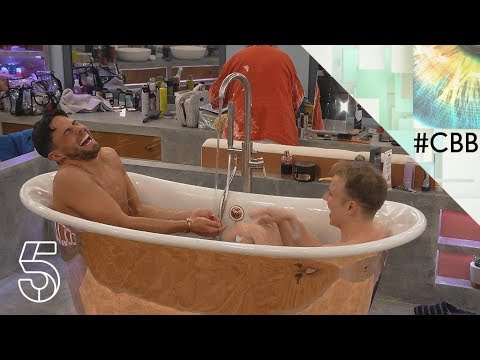 It's bath time, but who is shaving who? | Day 10  | Celebrity Big Brother 2018