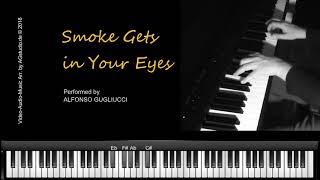 Smoke gets in Your Eyes - jazz piano - Jazz Standard