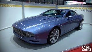 UP CLOSE: Aston Martin Centennial Zagato at Geneva 2014
