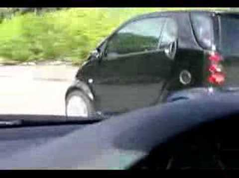 Smart Car And Bmw M3 Youtube