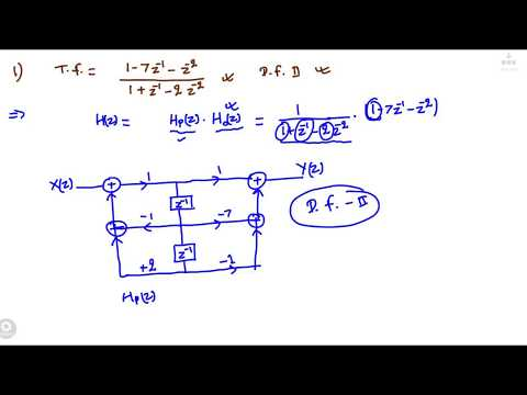 L2 : DSP : Direct Form II (Filter...