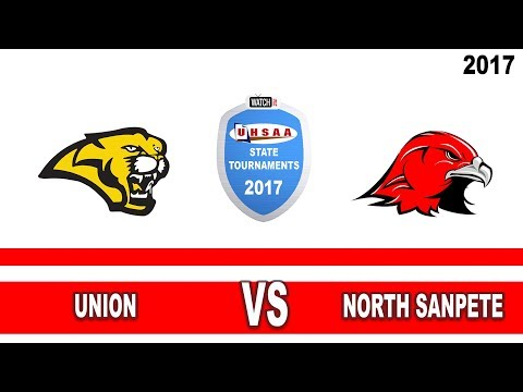 3A Volleyball: Union vs North Sanpete High School UHSAA 2017 State Tournament Semifinals