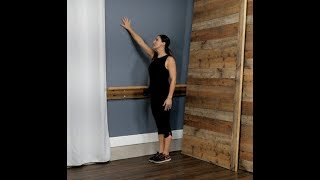 Wall Exercise: Chest/Shoulder Opener