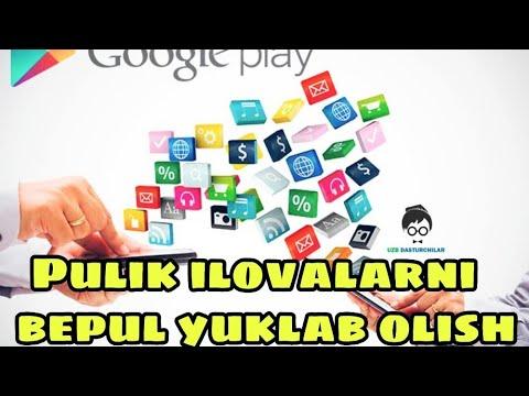 Play Marketdan pullik ilovalarni bepul yuklab olish