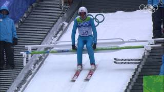 Nordic Combined - Large Hill Jump - Vancouver 2010 Winter Olympic Games