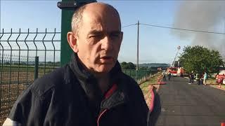 Dordogne : incendie de l'usine Sollice Biotech