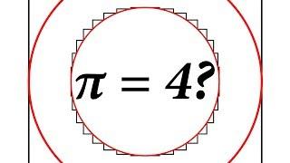 Does pi = 4? (A Good Explanation)