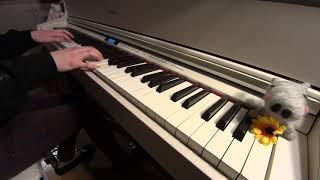 [ポケットモンスターOP]1・2・3 / After the Rain (そらる×まふまふ) 耳コピして弾いてみた ピアノ ひぽさんふらわー