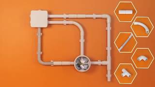 видео Трубы для электропроводки: ПВХ, ПНД, металлические (стальные, медные, оцинкованные), пластиковые, мягкие и жёсткие » Аква-Ремонт