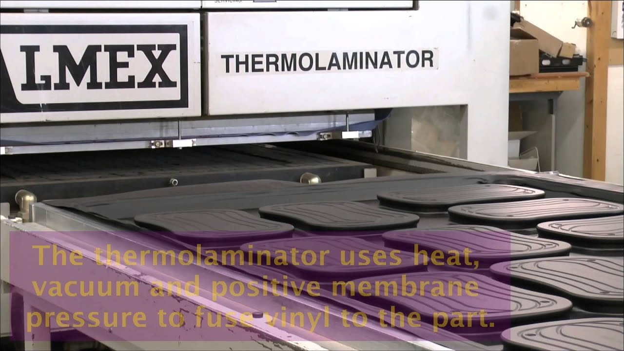 Thermofoil Membrane Pressing Sunway Custom Surface Youtube