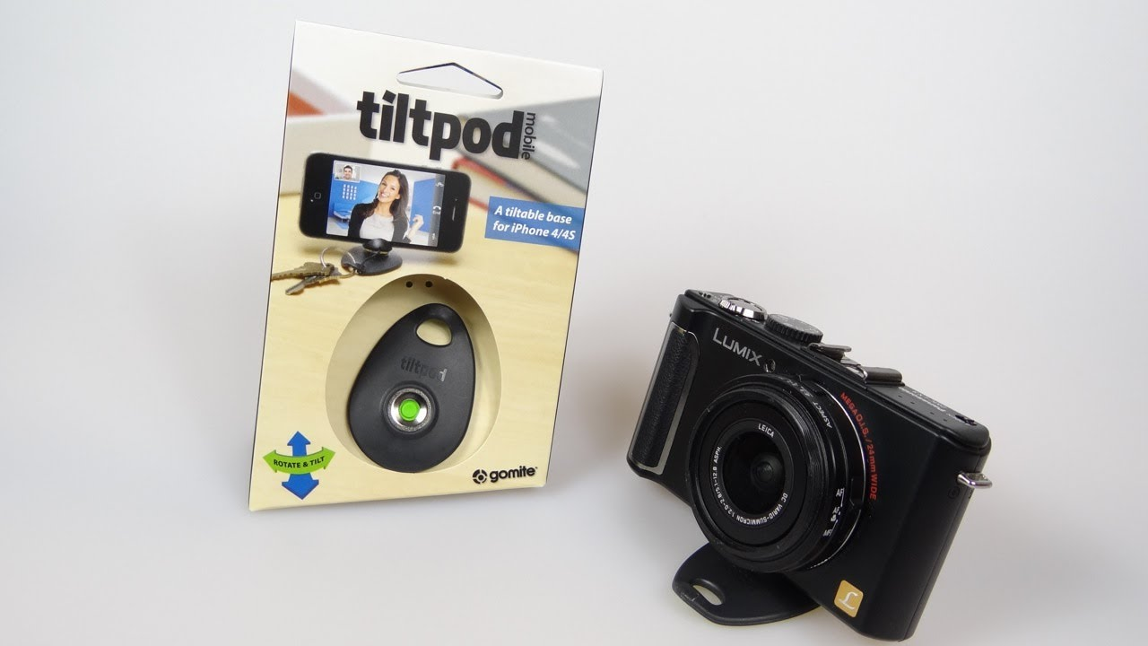 The Tiltpod - A 'Tripod' in your pocket. - A look at the Tiltpod, a compact stand for a camera or phone that fits on a keyring.