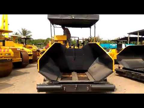 Asphalt Finisher Sumitomo HA60C - TSE Rental Equipment & Machinery - Jakarta