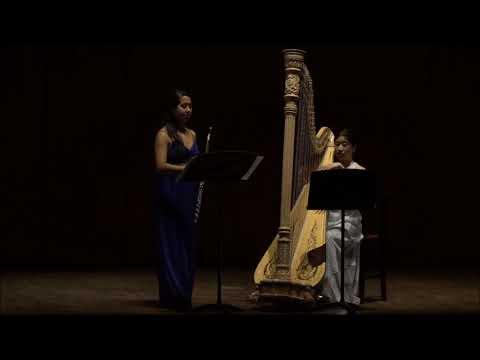 Adrian Shaposhnikov: Sonata for Flute and Harp - Clara Wang, Harp, Maria Vallejo, Flute