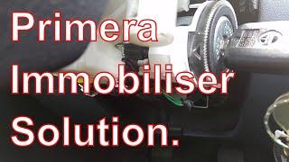 Nissan Primera P12 Ignition Immobiliser Fault Solution
