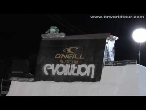 The best snowboarding tricks from Janne Korpi at O'Neill Evolution
