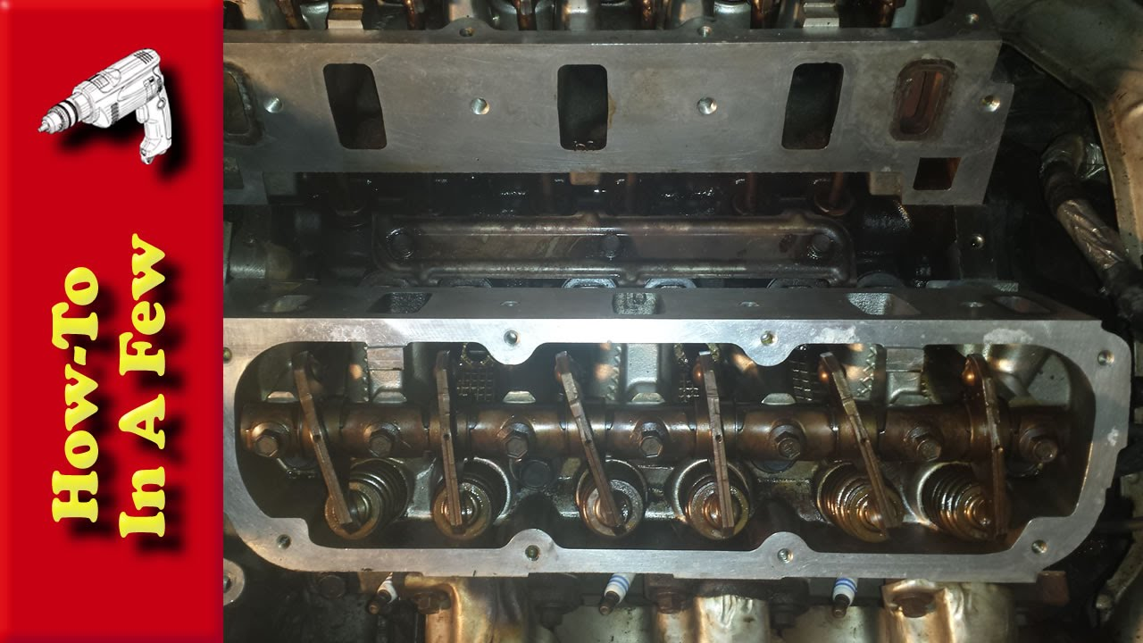 how to install a cylinder head gasket on a dodge 3 3 v6 engine rh youtube com