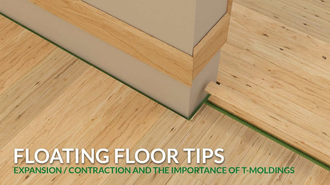 Floating Floor Tips How To Plan For Expansion And Contraction