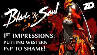 BLADE & SOUL 1st Impressions - The PvP Makes it Worth Bringing to the West (Technical Alpha)