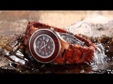 Wooden Wrist Watch - Dreamy Wood